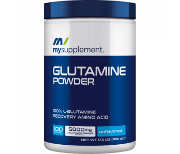 Mysupplement Glutamine Powder