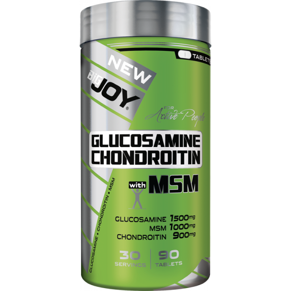 Bigjoy Sports Glucosamine Chondroitine with MSM