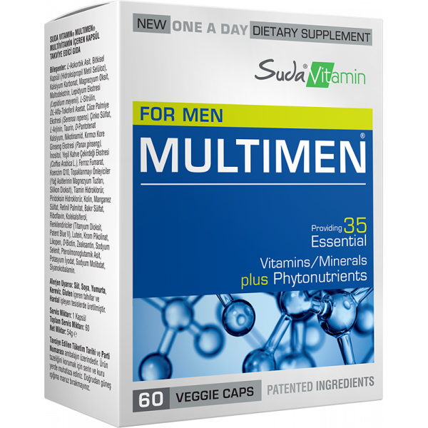 Suda Vitamin Multimen Multivitamin